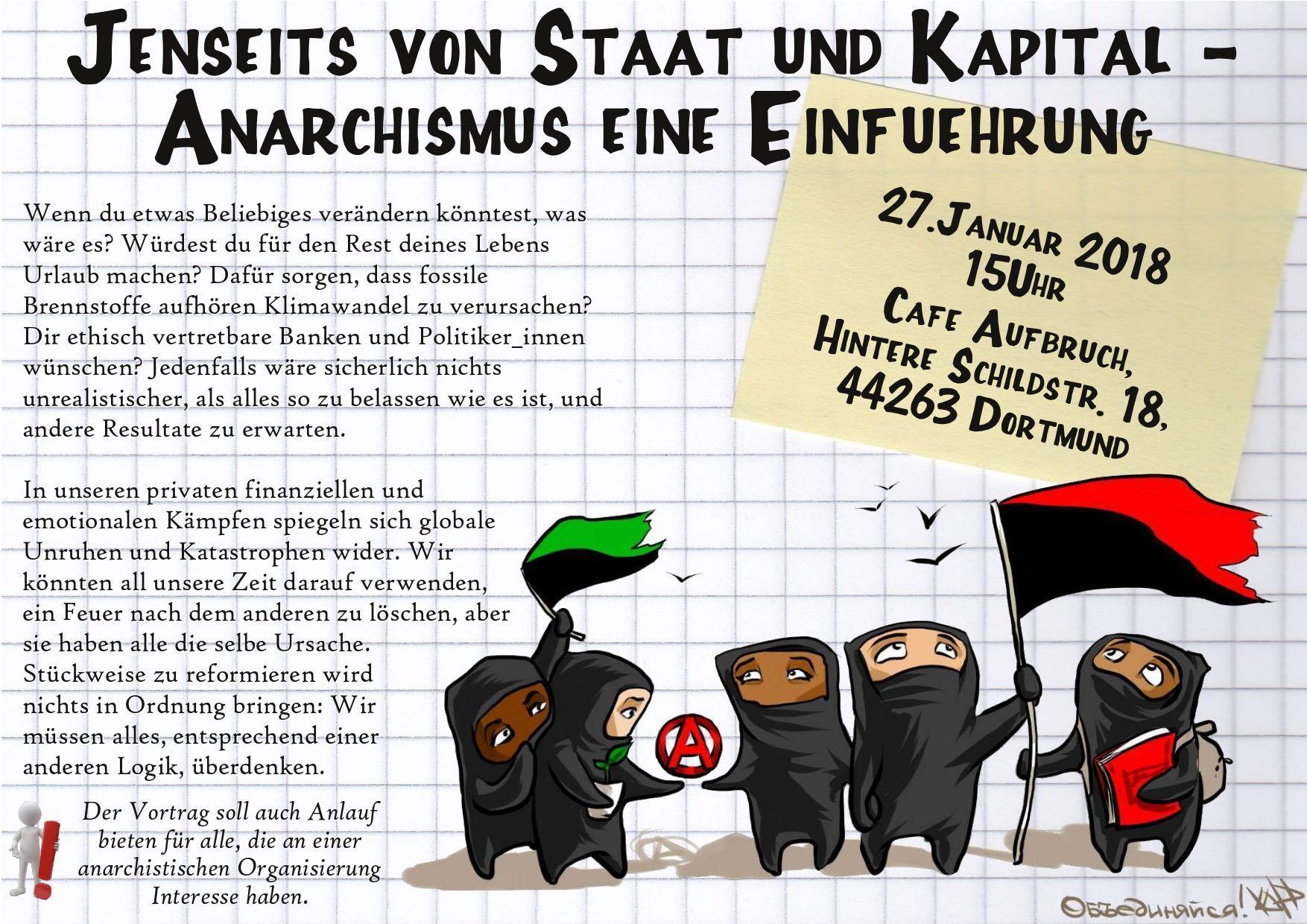 anarchismus einf hrungsveranstaltung in dortmund h rde anarchistische f deration rhein ruhr. Black Bedroom Furniture Sets. Home Design Ideas